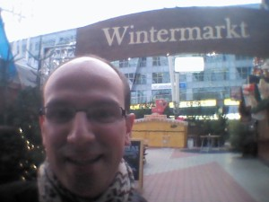 Wintermarkt at Munich airport