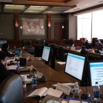 This is the boardroom where our meeting was held.